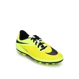 Jr Hypervenom Phade Fg-R Yellow Football Shoes