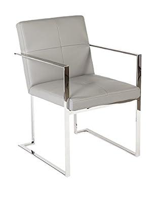 Control Brand Eitan Arm Chair, Light Grey