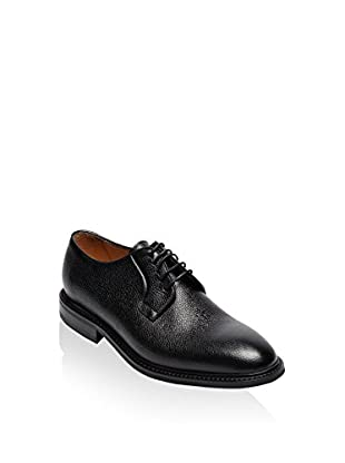 British Passport Zapatos derby Plain Goodyear Calf