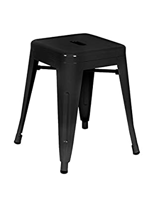 LO+DEMODA Hocker 2er Set Metal Ural Negro
