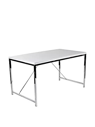 Euro Style Gilbert Desk, White