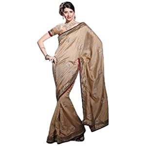 ADAAS Gold Manipuri Silk Saree