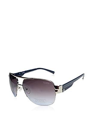 Guess Sonnenbrille 126Si-4860 (64 mm) silber/blau