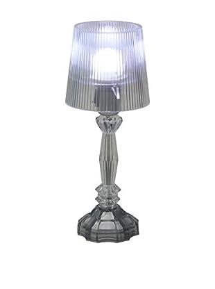 Sheratonn Lámpara De Mesa Tiffany Libera Transparente