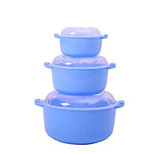 Twist Re-Heat N Serve Microwave Container Set (3 Piece Set) (Small)