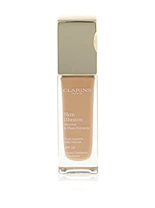 Clarins Base De Maquillaje Líquido Skin Illusion N°112 Amber 10 SPF 30 ml