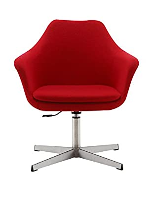 Ceets Kinsey Adjustable Leisure Chair, Red