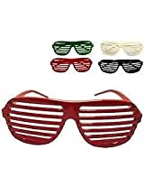 SHUTTER SHADES FUNKY NEW YEAR BIRTHDAY PARTY SUNGLASSES GOGGLES