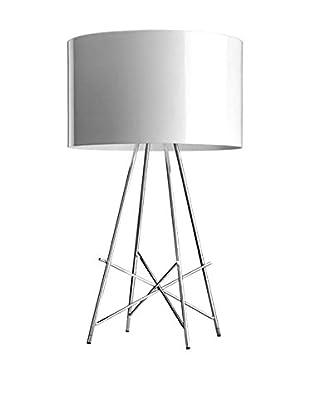 Flos Tischlampe Ray T Metallo Dimmer weiß Ø36 H 67 cm