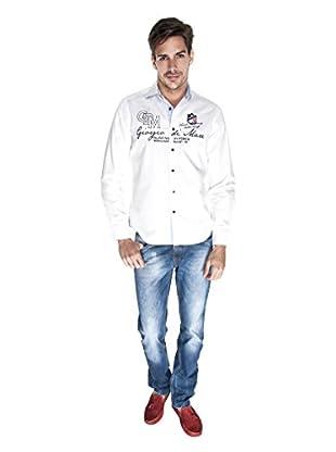Giorgio Di Mare Camisa Worked Josha (Blanco)