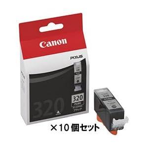 【クリックで詳細表示】【キヤノン純正インク】インクタンク ブラック BCI-320PGBK(10個セット) BCI-320PGBKX10