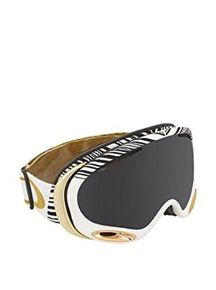 OAKLEY Skibrille 7044CLIP704408 weiß/goldfarben