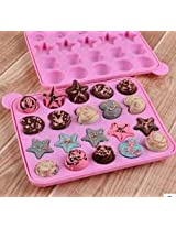 Lollipop Cupcake Chocalate Silicone Baking Mold Ice Tray Pan Sucker Maker