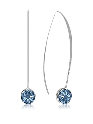 So Charm with Crystals from Swarovski Pendientes  Azul