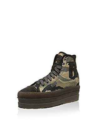 Ruco Line Hightop Sneaker 2624 Thunder Army