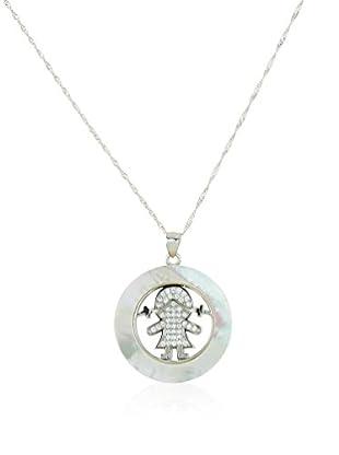 Silver Luxe Set catenina e pendente argento 925