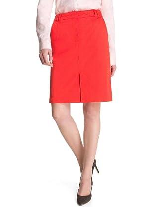 ESPRIT Collection Falda Natasha (Rojo)