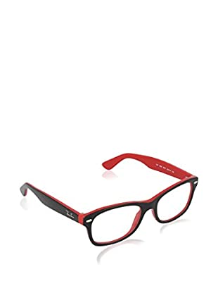 Ray-Ban Gestell 1528 357348 (48 mm) schwarz/rot