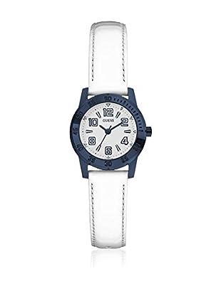 Guess Uhr mit japanischem Mechanikuhrwerk Woman Sportini blau 27 mm
