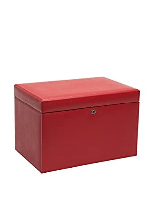 WOLF Large Jewelry Box, Red
