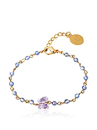 Art de France Pulsera  metal bañado en oro 24 ct