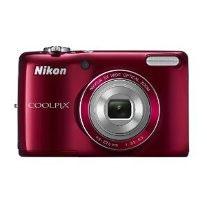 Nikon COOLPIX L26 16.1 MP Digital Camera with 5x Zoom NIKKOR Glass Lens and 3-inch LCD