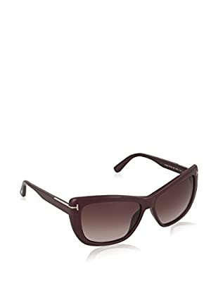Tom Ford Gafas de Sol FT0434_83T (58 mm) Rojo