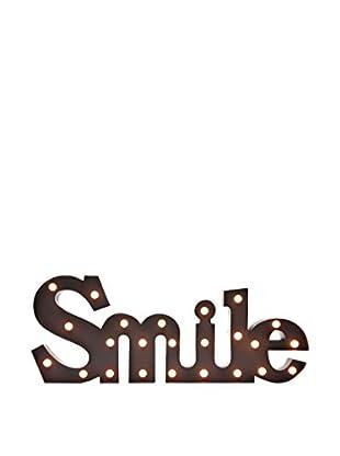 LO+DEMODA Wanddeko LED Smile