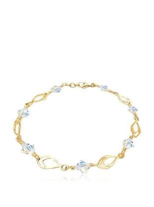 Goldhimmel Armband Feder Swarovski Elements