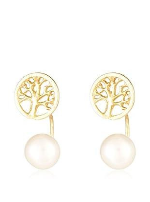 Córdoba Jewels Pendientes plata de ley 925 milésimas bañada en oro