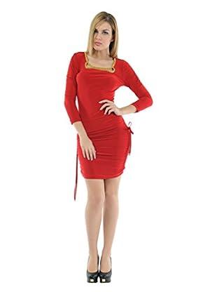 Via Bellucci Vestido Mercedes (Rojo)