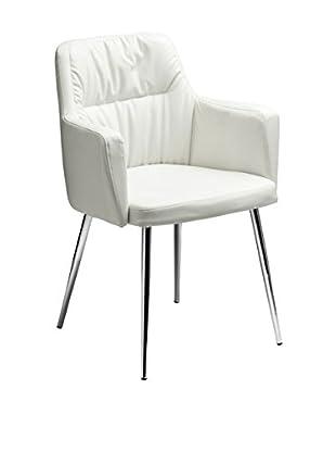 Premier Houseware  Stuhl 2403162 weiß
