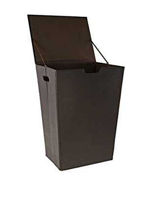 Nameek's Ailanto Colour Laundry Hamper, Wenge
