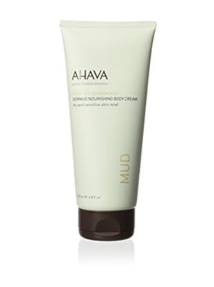 AHAVA Dead Sea Mud Dermud Nourishing Body Cream, 6.8 fl. oz.