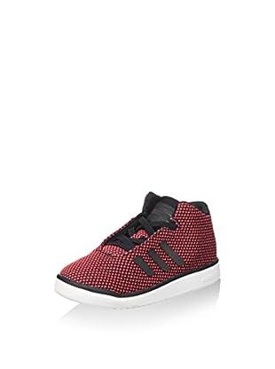 adidas Hightop Sneaker Veritas Mid I koralle/schwarz