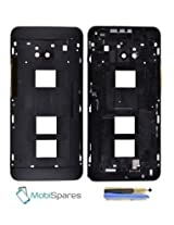 Middle Frame/Bezel for HTC One M7 802D,802W,802T Dual Sim ~ Black