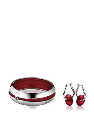 Breil Conjunto de brazalete y pendientes Secretly