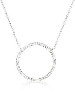 DI GIORGIO PARIS Halskette N157137 rhodiniertes Silber 925
