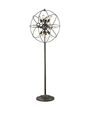 CDI Furniture Sputnik Floor Lamp, Bronze
