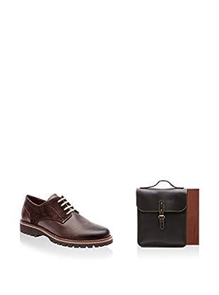 Ortiz & Reed Zapatos de cordones + Portadocumentos SET-ZDP3-AC1