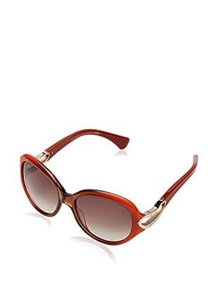 Alexander McQueen Sonnenbrille AMQ4217/S (56 mm) ziegelrot