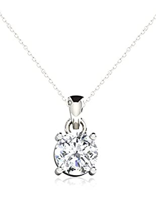 Friendly Diamonds Conjunto de cadena y colgante FDP6260W Oro Blanco