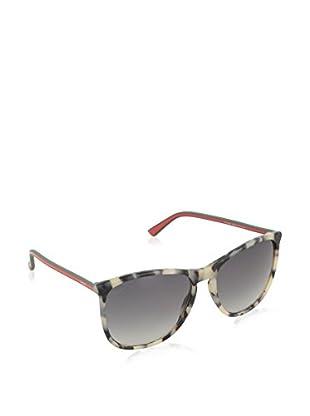GUCCI Sonnenbrille 3767/S VK GY4 (57 mm) grau/creme