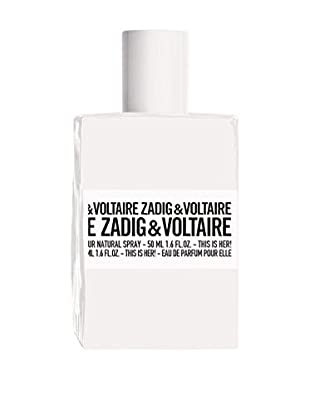 ZADIG&VOLTAIRE Damen Eau de Parfum This Is Her 50 ml, Preis/100 ml: 99.9 EUR