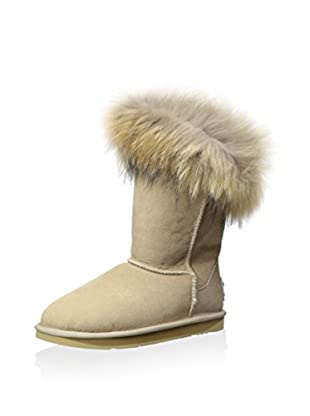 AUStralia Luxe Collective Womens Foxy Short Short Fur Trimmed Boot (Sand)