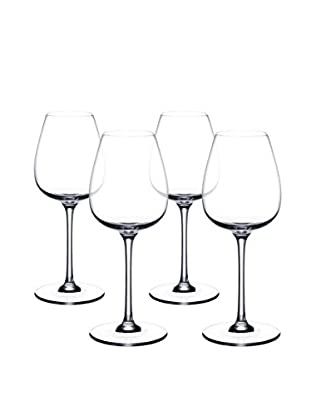 Villeroy & Boch Purismo 19.2-Oz. Set of 4 Red Wine Goblets, Clear