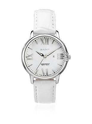 Gant Reloj con movimiento cuarzo japonés Brighton W10862 Blanco 38 mm