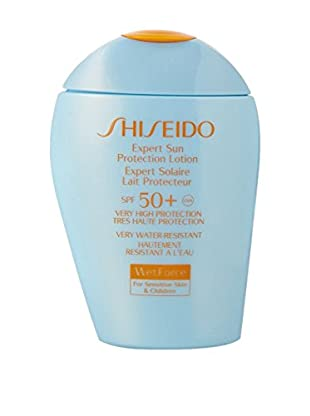 Shiseido Sonnenlotion Wet Force Face/Body 100.0 ml, Preis/100 ml: 33.99 EUR