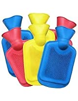 Meet Hot Water Bottle Bag Pouch for massage, 2 Litre Ribbed