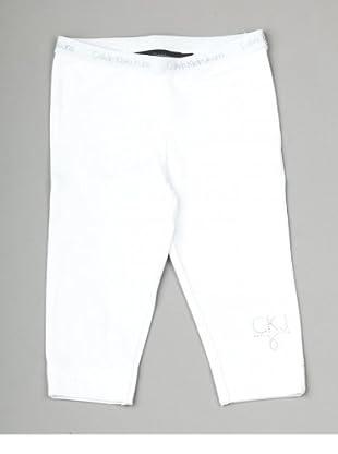 Calvin Klein Jeans CGB880 J8C08 Mädchen Hosen/ Lang (Weiß(001, White ))